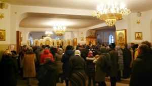 В брянском соборе помолились за убитых матерями детей