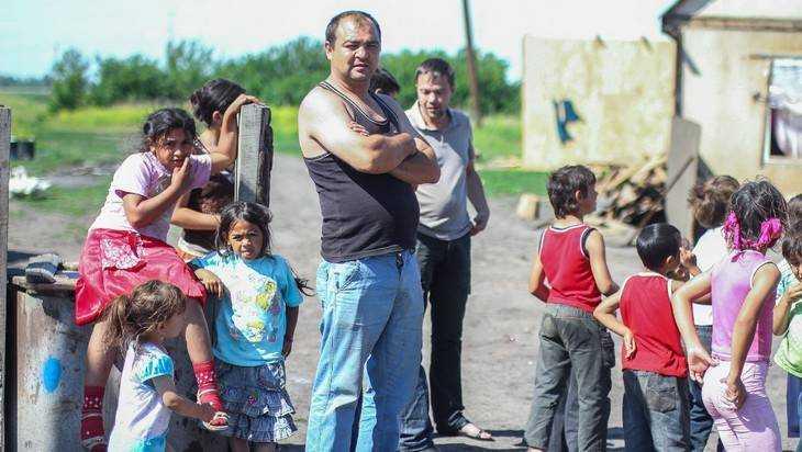 Брянские цыгане разбили машину ГИБДД и избили пятерых полицейских