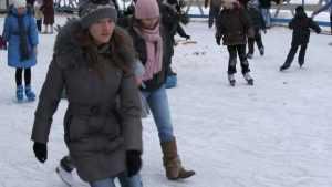 В Брянске открыли 40 катков