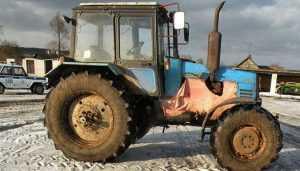 Полиция поймала брянца при попытке угнать трактор предприятия