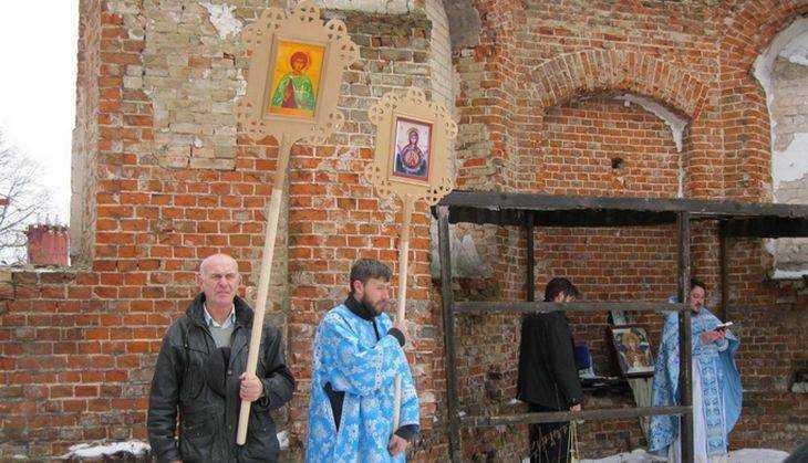 В Добрике, одном из древнейших брянских сел, прошел крестный ход