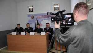 Журналистов познакомили с главным росгвардейцем Брянской области