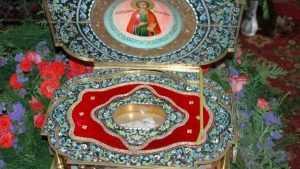 В Брянск доставят мощи святого Пантелеймона