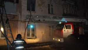 В Брянске из горевшей пятиэтажки эвакуировали семерых жильцов