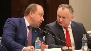 Олег Розанов принимает участие в инаугурации президента Молдавии Игоря Додона