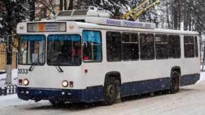 Вечерние рейсы троллейбуса № 3 в Брянске отменять не будут