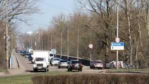 В Брянске с 1 января на год ограничат движение по Литейному мосту