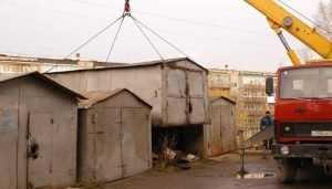 В Брянске снесут незаконные гаражи на улице Унечской