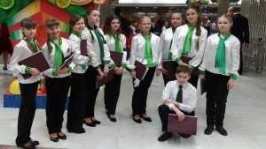 Брянские вокалисты спели в составе детского хора России