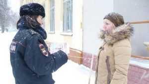 Брянцам рассказали, как сберечь себя в снегопады