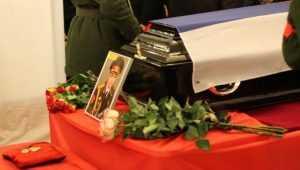 Брянцы простились с погибшим в авиакатастрофе под Сочи Дмитрием Литвяковым