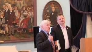 Изборцы поздравили коллектив брянского музея-усадьбы Ф.И. Тютчева