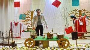 В Брянском районе состоялся спектакль «Русский крест» Николая Мельникова