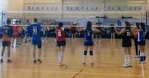 Волейбольные мастера показали класс брянцам