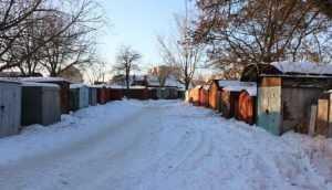 В Брянске снесут металлические гаражи