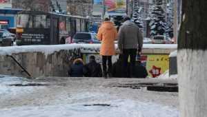 На Брянщину оттепель вернётся со снегом и шквальным ветром