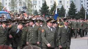 Российскую армию полностью укомплектовали