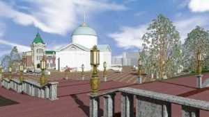 На суд брянцев представили проекты лестницы бульвара Гагарина