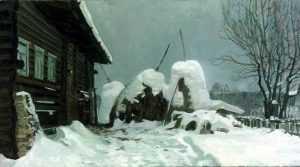 Жителей домов напугали «снежные блохи»