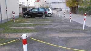 В Брянске разрешили покупать прямоугольники на асфальте