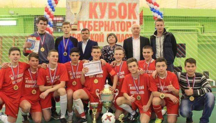 Брянцы сразились за Кубок губернатора по мини-футболу