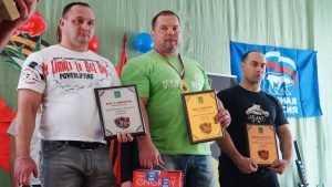 В Брянском районе прошел чемпионат по пауэрлифтингу