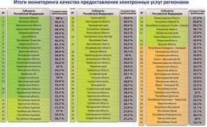 Брянщина вошла в десятку лучших по электронным услугам