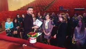 Перед концертом в Брянске Сергей Лазарев впервые показал сына