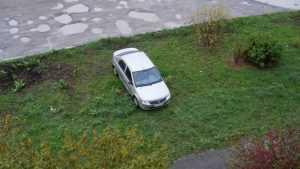 Проблему парковки на газонах доведут до правительства