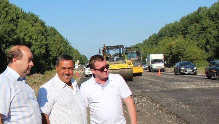 Дорожники отремонтируют 13 километров трассы Брянск – Новозыбков