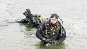 Брянские храбрецы с третьей попытки покорили весенний лёд
