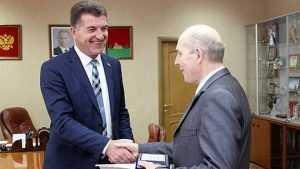 Брянский тренер Валентин Евдокименко получил медаль