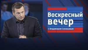 Телеведущий Соловьёв оценил акции брянских «борцов с коррупцией»