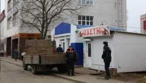 В Брянске снесут 11 незаконных киосков из шестидесяии