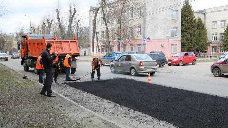 В Брянске обнародовали список дорог, которые отремонтируют