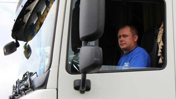 Брянских дальнобойщиков освободили от транспортного налога за «Платон»