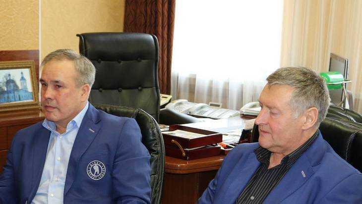 В Брянск приехали олимпийские чемпионы по хоккею Бабинов и Мыльников