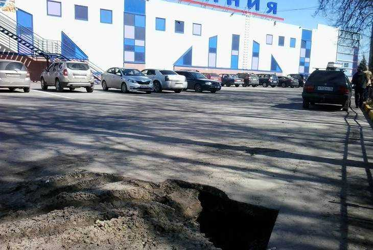 Власти Брянска назвали причину провала возле «Линии»
