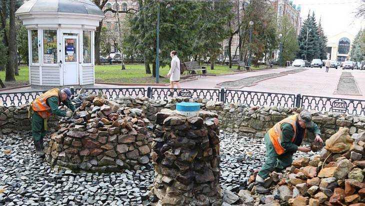 В Брянске пять фонтанов выплеснут 2,2 миллиона рублей