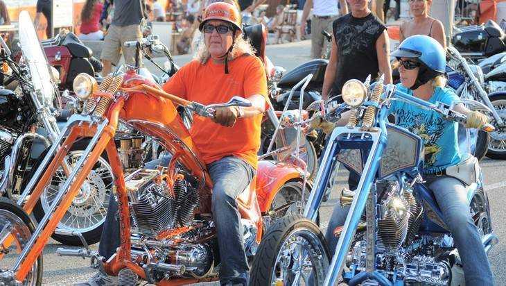 Лихой брянский мотоциклист врезался в KIA