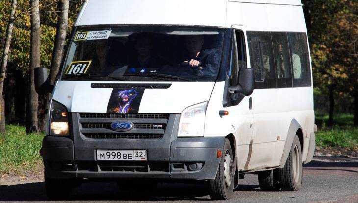 В Брянске при столкновении разбилась пассажирка маршрутки