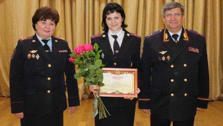 Сотрудница брянской полиции Елена Кузьмина победила в московском конкурсе