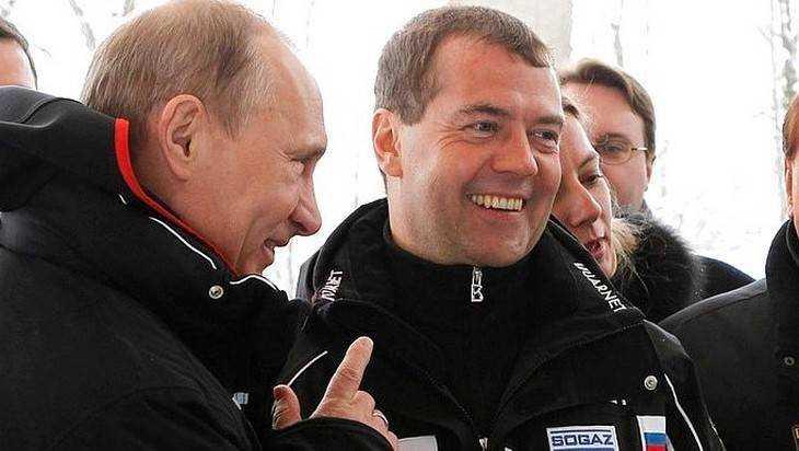 Опубликованы доходы Владимира Путина и Дмитрия Медведева