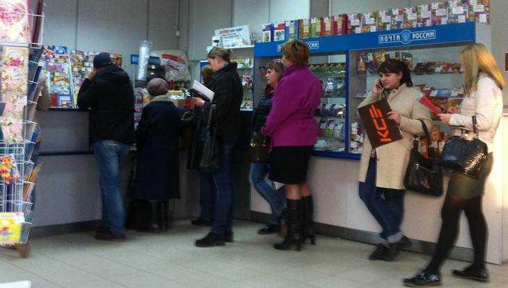 Предпраздничный Брянск увяз в пробках и очередях на почте и в магазинах