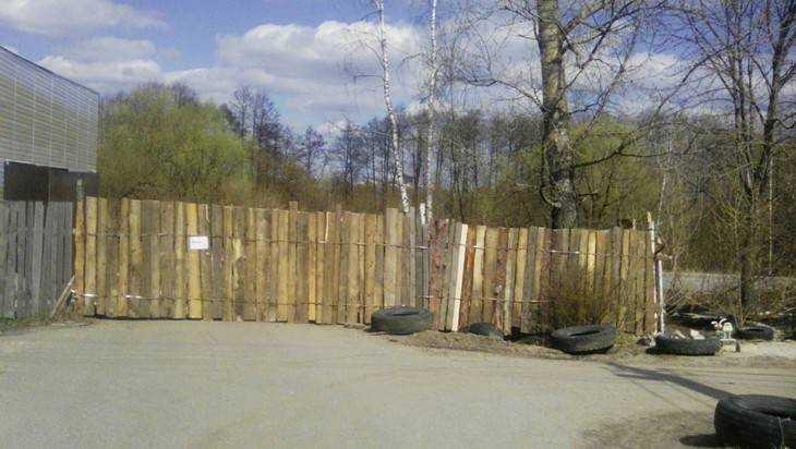 В Брянске чиновники продали часть дороги