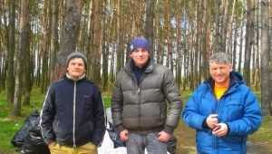 Неистовый брянец Михаил Шпаков и его соратники очистили берег Орлика