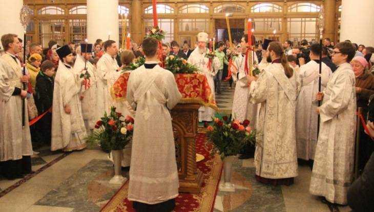 Праздник Пасхи на Брянщине отметили 116 тысяч человек