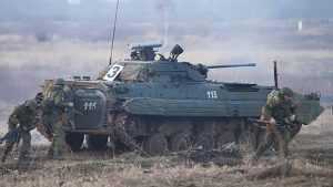 Брянская область стала полигоном для маршей военных