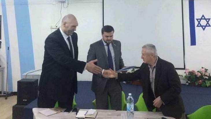 Брянский депутат Николай Валуев улетел в Израиль