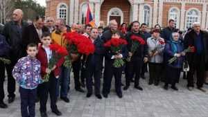 В брянском райцентре в память о жертвах геноцида армян освятили «Хачкар»